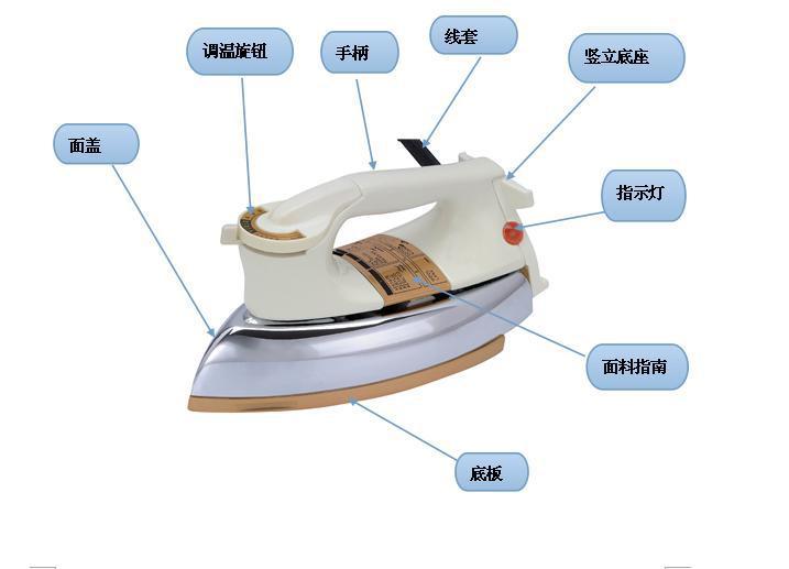 供应商直销 可调温式干式电熨斗图片