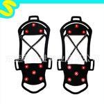 雪地冰爪 湿滑防滑鞋套 冰雪防滑鞋套 安全防滑鞋套