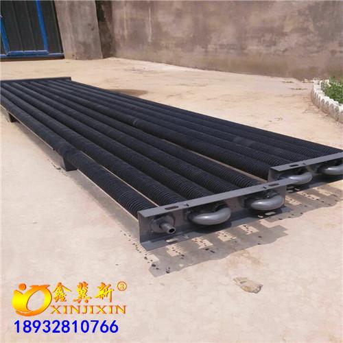 高频焊翅片管散热器A采暖用翅片式散热器供应商加工定制