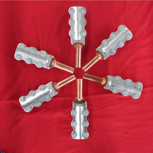 M12 14 16 18 20 铜铝管式螺纹铜铝抱杆