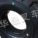 青岛胶州市搬易通叉车半实心轮胎保护替换:华晟叉车
