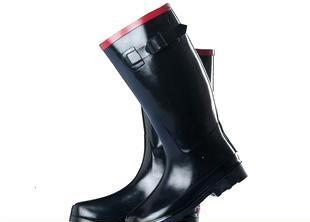 韓国のゴム靴 劳保雨靴全胶鞋工作鞋防护鞋安全鞋橡胶雨