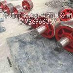 活性炭回转炉托轮总成 挡轮配件生产供应商 价格高清图