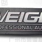 铝铭牌定做 高光铝标牌电镀铝标牌音响铝牌logo