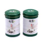 马口铁茶叶盒加工厂 圆形我国茗茶包装盒 构思翻盖绿茶