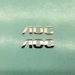 高尔夫球杆金属标签电铸厚标牌logo供应商定做家电金属