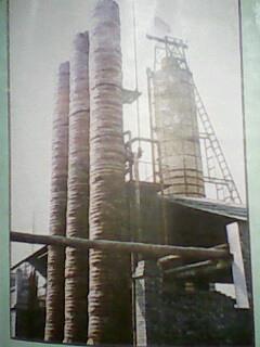 出产碳酸钡的高炉