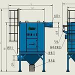 青岛路博环保 LB-D脉冲反吹布袋除尘器