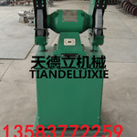 除尘式砂轮机吸尘砂轮机M3320环保型除尘砂轮机大