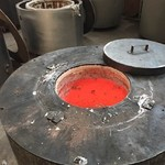 节能熔铝炉保温炉电炉 供应商供应 无明火 无烟无尘