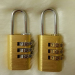 【精工巧制】直销铝合金密码锁多中色彩密码锁箱包