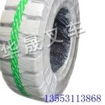 青岛胶州市搬易通叉车半实心轮胎保护