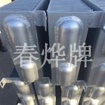蒸汽型钢串片管散热器 钢制镀锌板散热片来图定制