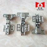 高级橱柜门铁镀镍固定液压缓冲阻尼铰链