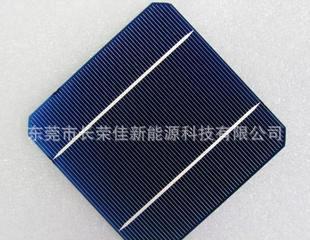现货直销125单晶硅太阳能电池片米粒缺片 报价低