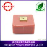 超高频高压陶瓷电容器 30KV 1800PF电子
