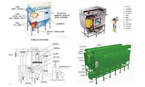 龙游县布袋除尘器|阜昌机械|低压脉冲长布袋除尘器