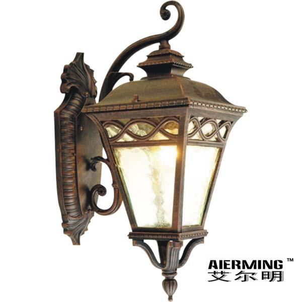 艾尔明 正品 欧式复古野外壁灯 LED铝压铸防水
