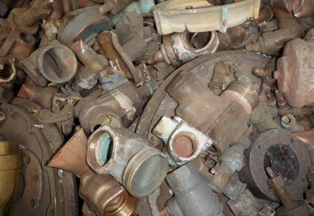 一手进口 墨西哥废铜黄杂铜HONEY 铜锌合金废