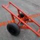 高强轮胎运杆车 水泥杆拖车 拉杆车拖杆车