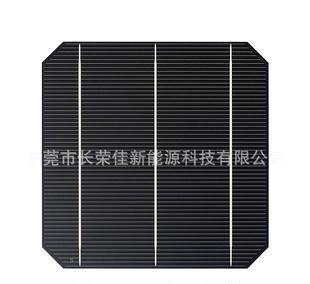 长时间直销美国进口156单晶硅太阳能电池片A类片