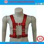 专业质量  涤纶双背安全带高空作业安全带双绳双大