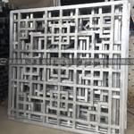 雕花镂空铝窗花 全焊接铝型材窗花 窗花铝单板