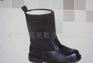 高帮 纯牛皮安全防护鞋劳保鞋 钢头 耐油耐砸耐酸碱