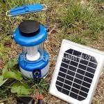高效率3W太阳能多晶硅板 36颗高亮度LED太阳能野