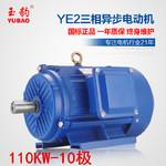 供应商供应YE2-10极110KW千瓦三相异步电动机3