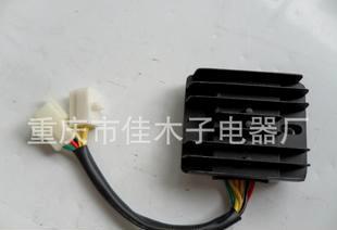 直销摩托车调压器HJ125T调压器双组合插 功能