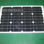 特价直销 40w单晶硅太阳能电池板 太阳能电池板组件