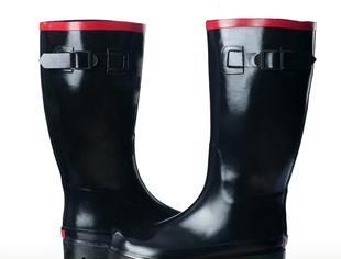 韓国きれいなゴム靴安全鞋防护鞋轻便鞋作业雨靴劳保雨鞋